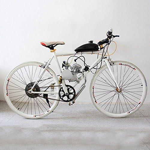 SHUOGOU 80cc 2 Tiempos Ciclo de Pedales Gasolina Motor de gas Motor Juego de motores con Inclinación de ángulo Cabeza de Inclinación para Bicicleta de Bicicleta Motorizada / Eléctrica: Amazon.es: Deportes y