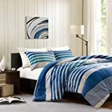 Ink+Ivy Connor 3-Piece Comforter Set, King, Blue by Ink+Ivy