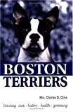 Boston Terriers, Charles D. Cline, 0793823978