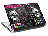 DJ Turn Tables Music Personalized LAPTOP Skin Decal Vinyl Sticker ANY NAME L734, 10''