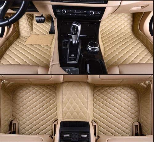 Fit for Mercedes-Benz All Models Car Floor Mats Luxury Custom FloorLiner Auto Mats Waterproof Carpets Pads Protector Car Floor Mats (Beige, E-Coupe-2017~2019) ()