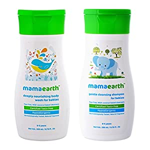 Best Cleansing Baby Shampoo by Mamaearth