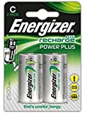 Energizer Power Plus C Rechargeable Batteries - Pack of 2