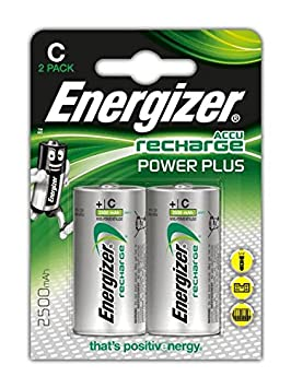 Energizer 635674 - Blister, 2 pilas recargables