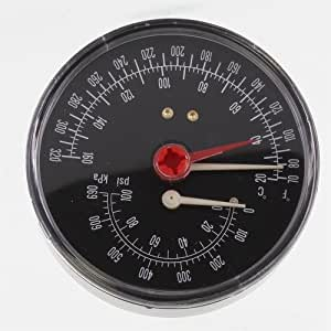 Combination Pressure Temperature Gauge All Boiler Sizes