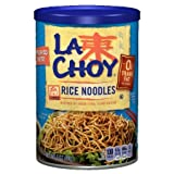 la choy rice - La Choy Rice Noodles, 3-Ounce Canisters (Pack of 2)