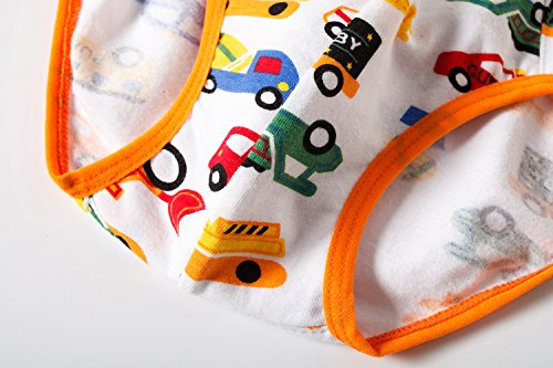 BOBO Kids Little Boys Car Briefs Underwear Toddler (Pack Of 6) Size 7-8 by BOBO Kids (Image #6)