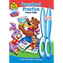 Preschool Practice Scissor Skills Workbook Ages 3-5
