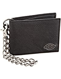 Men's Leather Slimfold Wallet With Chain
