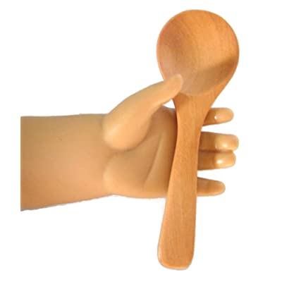 Wooden Spoon for 18 inch American Girl Doll Kirsten by DCSB: Toys & Games