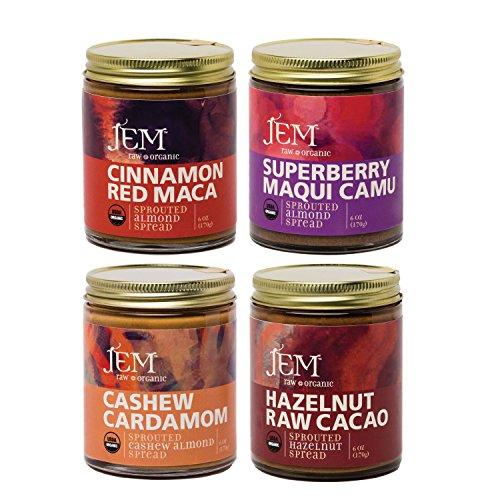 Jem Raw, Vegan, Organic Specialty Nut Butter Spread