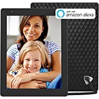 Nixplay Seed 10 Inch WiFi Cloud Digital Photo Frame with IPS Display, iPhone & Android App, Free 10GB Online Storage and Motion Sensor (Black)