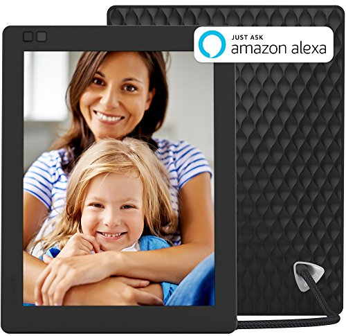 Nixplay Seed 10 Inch WiFi Cloud Digital Photo Frame with IPS Display, iPhone & Android App, Free 10GB Online Storage and Motion Sensor (Black) from nixplay