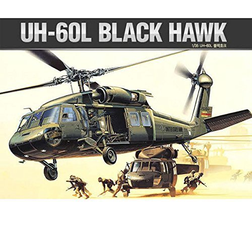 Academy UH-60L 12111 1/35 Scale BLACK HAWK Model Kit Army Helicopter