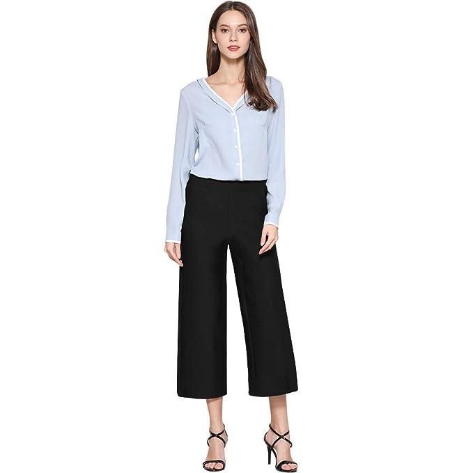 Amazon.com: Tsful pantalón de vestir para mujer, casual ...