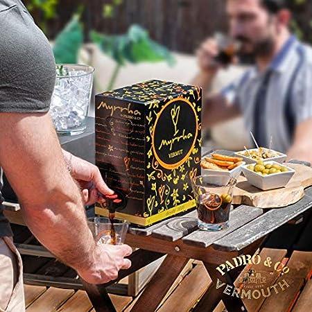 Vermouth Myrrha Blanco Bag in Box, vermouth, 500 cl - 5000 ml