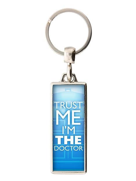 Grindstore Trust Me I & # 39; M el médico llavero 2 x 5.4 cm ...