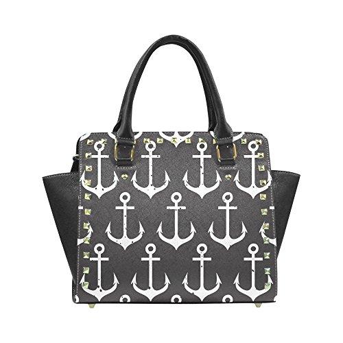 Chuangdian Anchor Custom Rivet Shoulder Handbag
