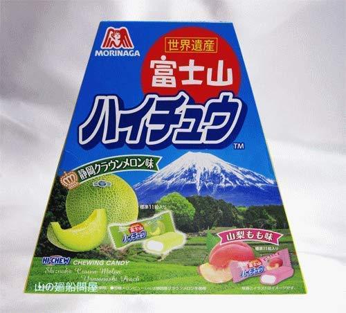 [중부지방 한정] 후지산 하이츄 (야마나시 복숭아 맛・시즈오카 크라운 멜론 맛)