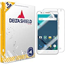 Alcatel OneTouch GO PLAY Screen Protector [2-Pack], DeltaShield BodyArmor Full Coverage Back + Front Screen Protector for Alcatel OneTouch GO PLAY Military-Grade Clear HD Anti-Bubble Film