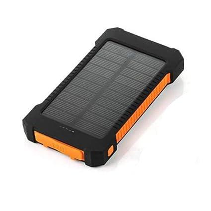 WSYA 20000mAh Cargador Externo Solar portátil con brújula ...
