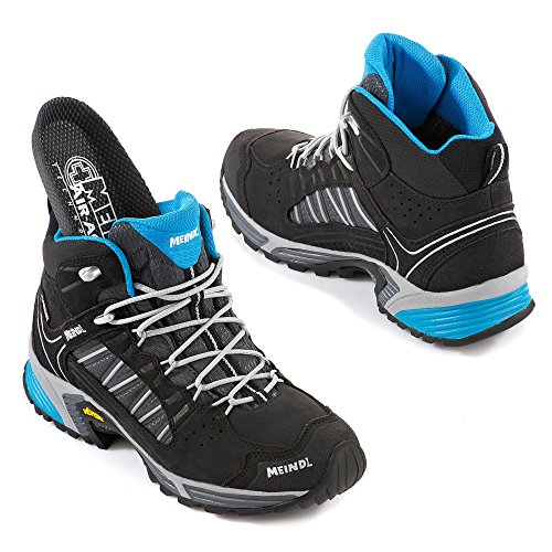 Meindl Shoes Sx 1.1 Lady Mid Gtx - Nero / Azur 37 1/3