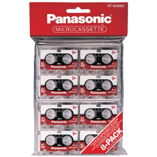Panasonic Microcassette Audio Tape