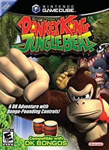 f75b7c99efb Amazon.com  Donkey Kong Jungle Beat - Gamecube (Game)  Nintendo ...