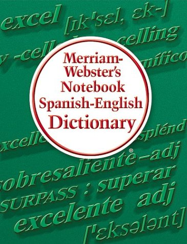 Merriam-Webster Spanish and English Notebook Dictionary (English and Spanish Edition) by Merriam-Webster (Image #2)
