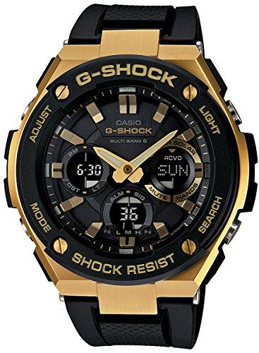 CASIO watch G-SHOCK G-STEEL world six stations corresponding Solar radio GST-W100G-1AJF Men's