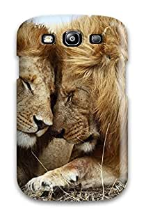 Bruce Lewis Smith Case Cover For Galaxy S3 - Retailer Packaging Lions Pair Protective Case