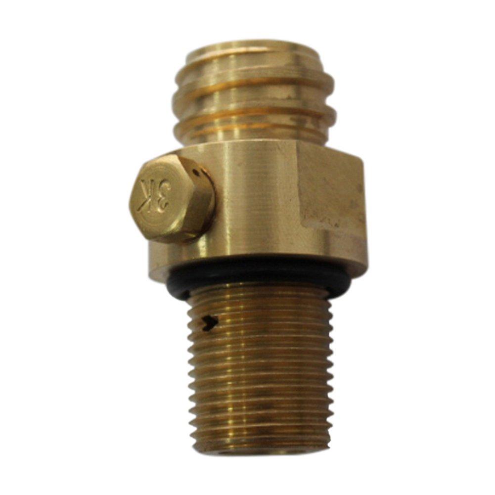 New CO2 Tank Brass Soda Pin Valve (copper) cyclamen9