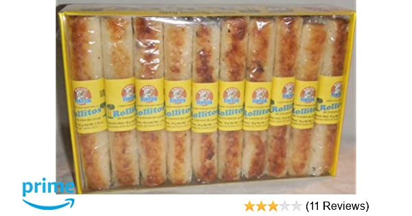 Amazon.com : Coconut Milk Rolls Mexican Candy - Rollos De Cocada De Leche 20 Pieces Sealed : Fruit Flavored Candies : Grocery & Gourmet Food