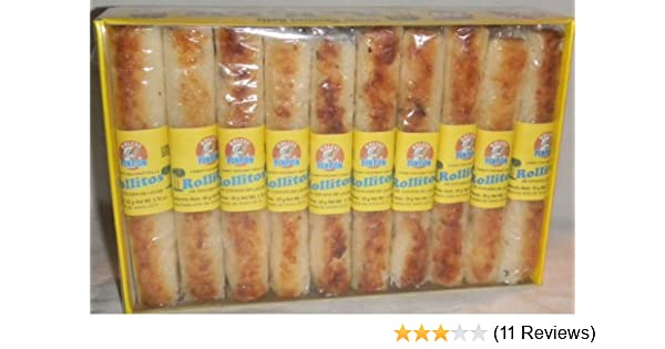 Amazon.com : Coconut Milk Rolls Mexican Candy - Rollos De Cocada De Leche 20 Pieces Sealed : Fruit Flavored Candies : Grocery & Gourmet Food