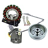 Rmstator Kit Improved Flywheel + Stator + Crankcase Cover...