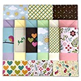 54 Piece Stationary Paper Pack - Fun & Colorful