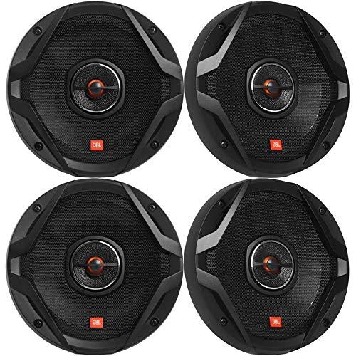 "4 x JBL GX Series GX628AM 6.5"" 2-Way 180 Watt Peak Power Coaxial Car Audio Speakers (Reconditioned)"