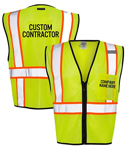 Custom Reflective Vest - 3