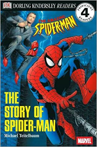 amazon com dk readers the story of spider man level 4 proficient