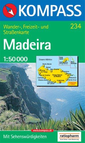 Kompass Karten, Madeira (Aqua3 Kompass)