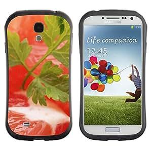 LASTONE PHONE CASE / Suave Silicona Caso Carcasa de Caucho Funda para Samsung Galaxy S4 I9500 / Plant Nature Forrest Flower 5