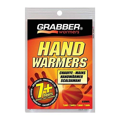 Grabber Hand Warmers - Long Lasting Safe Natural Odorless Air Activated Warmers - Up to 7 Hours of Heat - 40 Pair by GRABBER WARMERS