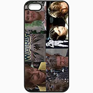 Personalized iPhone 5 5S Cell phone Case/Cover Skin Star wars episode 4 ceremony movies Black
