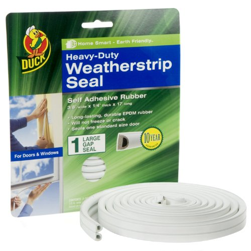 Duck Heavy Duty Adhesive Weatherstrip 282433