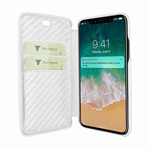 Piel Frama 794 White Emporium Leather Case for Apple iPhone X