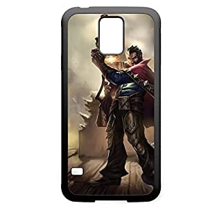 Graves-002 League of Legends LoL For Case Samsung Galaxy Note 2 N7100 Cover - Hard Black