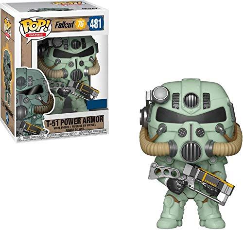 POP Funko Games T-51 Power Armor Green - Multicolor -