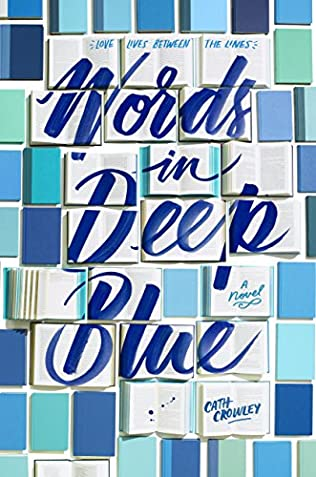book cover of Words in Deep Blue