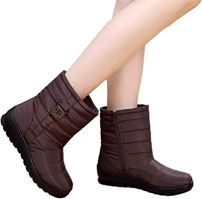 35 Bottes Chaussure Taille courte Mode chaud 41 neige