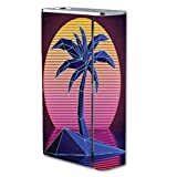 Decal Sticker Skin WRAP - Smok X Cube II 160W TC - Digital Palm Tree Sunset